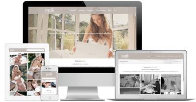 Ivettebridal - WordPress, Multiidioma y elaboración de contenido