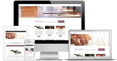 VIZCAINO ADVOCATS - WordPress, instalación, inserción de contenido y ajustes de estilos