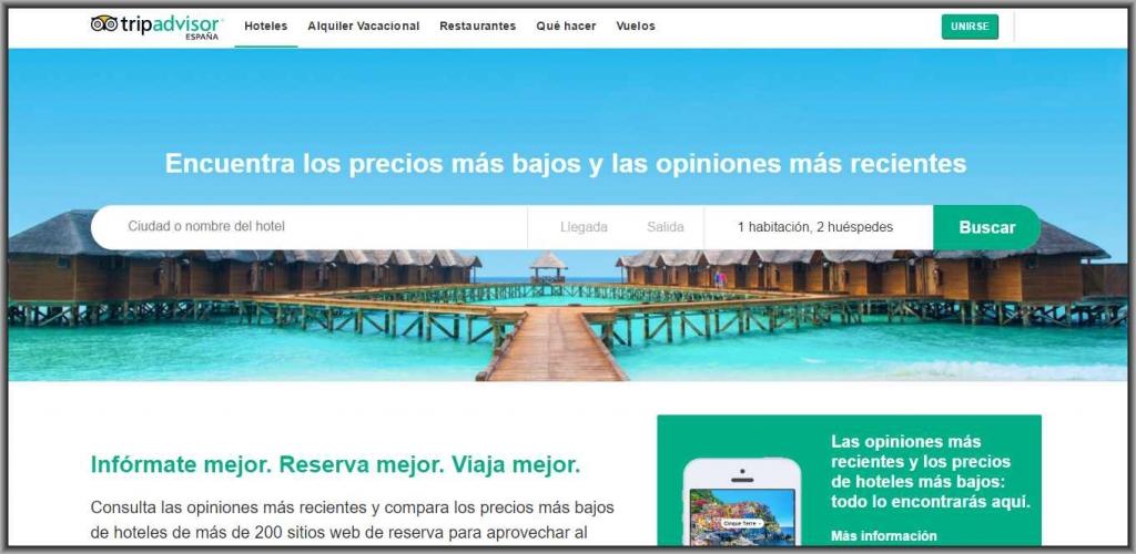 TripAdvisor tiene nueva Web