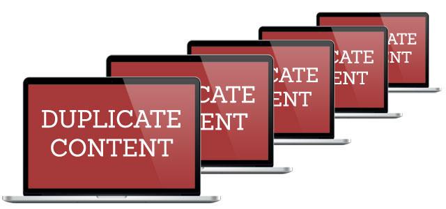 Soluciones para tratar el duplicado de contenido