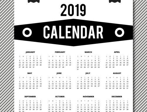 Calendario Personal eCommerce 2019 Gratuito con PrestaShop