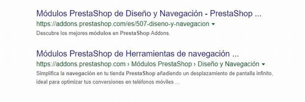 1# A Google le encantan los breadcrumbs